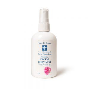 Rose Geranium Hydrating & Firming Mist 4oz