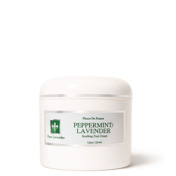 Soothing & Cooling Peppermint Lavender Foot Cream 4.2oz